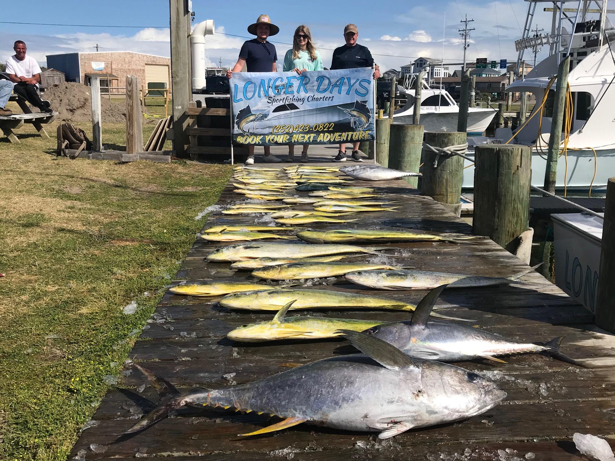 Longer Days Fishing Charters Teach's Lair