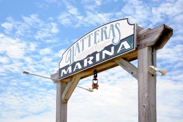 Hatteras Landing Marina Dockage