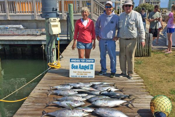 Fishing Report from Hatteras Landing and Teach's Lair Marina