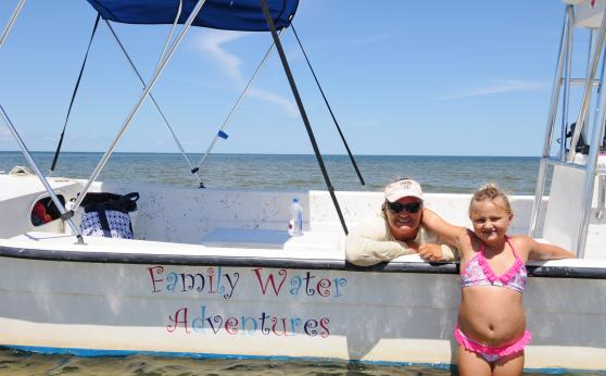 Family Water Adventures at Hatteras Landing Marina