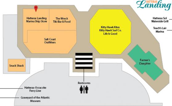 Hatteras Landing Store Locator