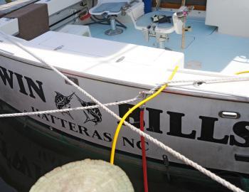 Twin Bills Charters at Teach's Lair Marina