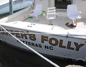 Harper's Folly Charters at Teach's Lair Marina