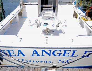 Sea Angel II at Hatteras Landing Marina