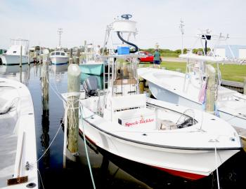 Speck-Tackler Charters at Teach's Lair Marina