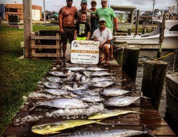 Hatteras Sportfishing Wahoo Teach's Lair Harper's Folly