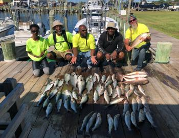 Elizabeth Grace Inshore Fishing Charters Hatteras, NC