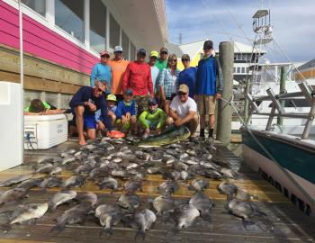 Fishing with Captain Brian on the Stormy Petrel II