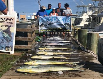 Teach's Lair Fishing Longer Days Charter