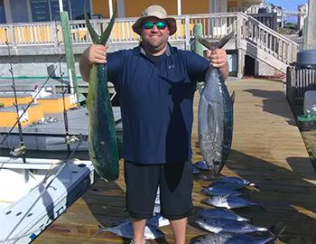 Fishing with Captain Bruce Armstrong at Hatteras Landing Marina