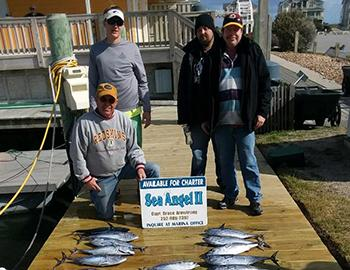 Fishing aboard the Sea Angel II with Captain Bruce Armstrong