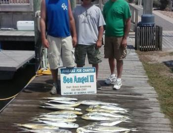Fishing with Bruce Armstrong on the Sea Angel II
