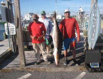 Teach's Lair Fishing Reports   Hatteras Landing