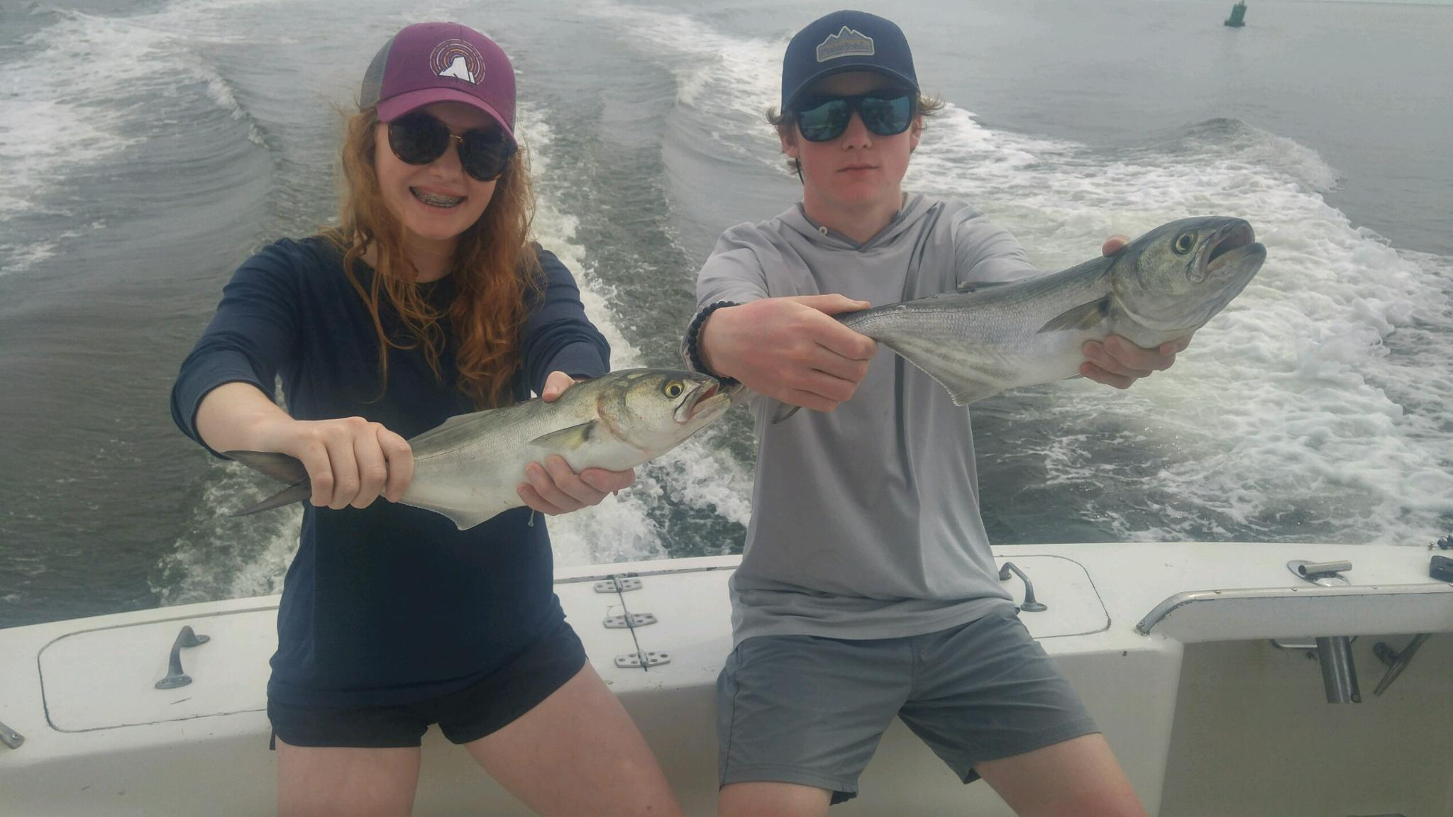 Bluefish on the Sea Angel II