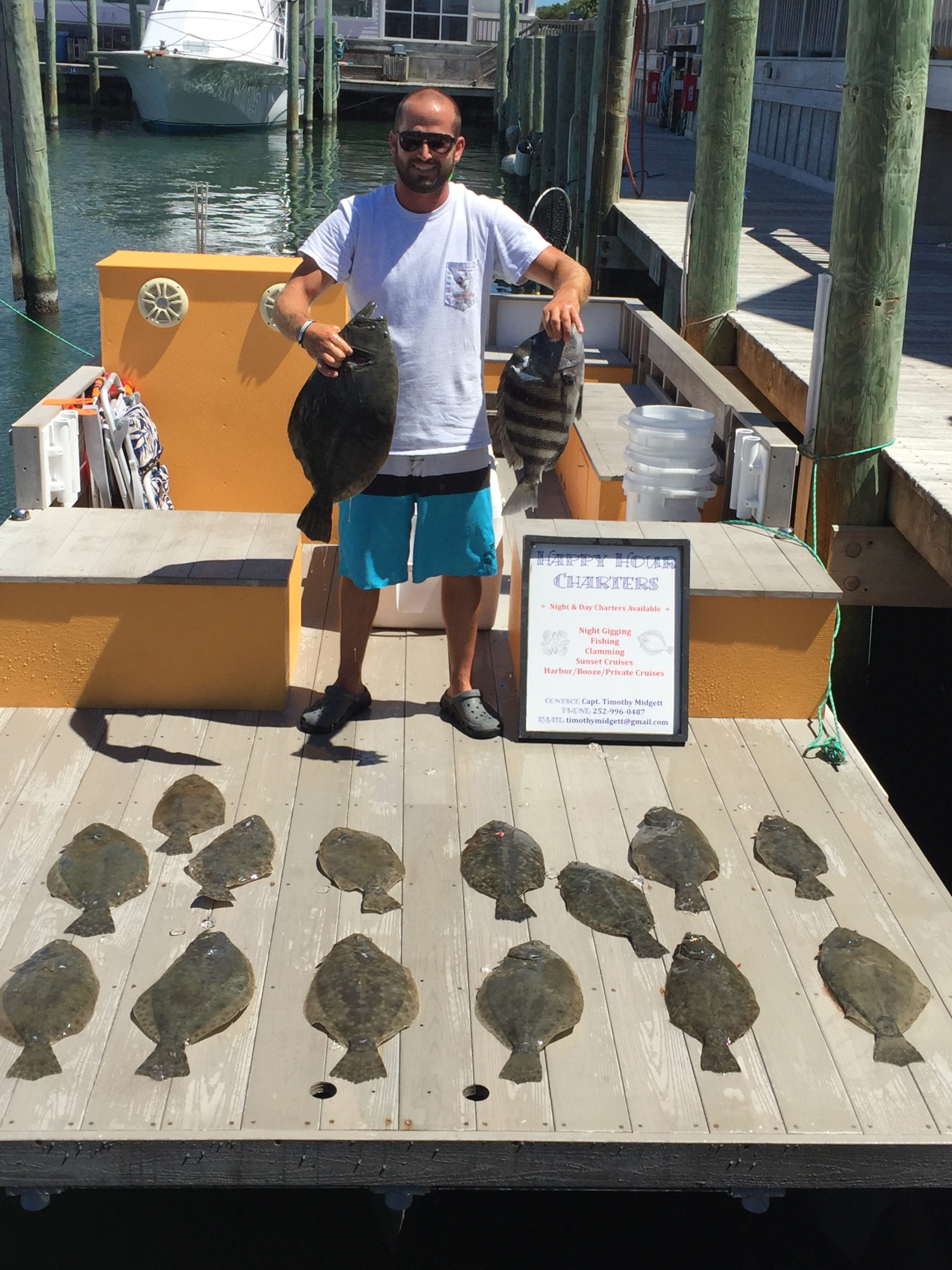 Happy Hour Charters at Hatteras Landing Marina