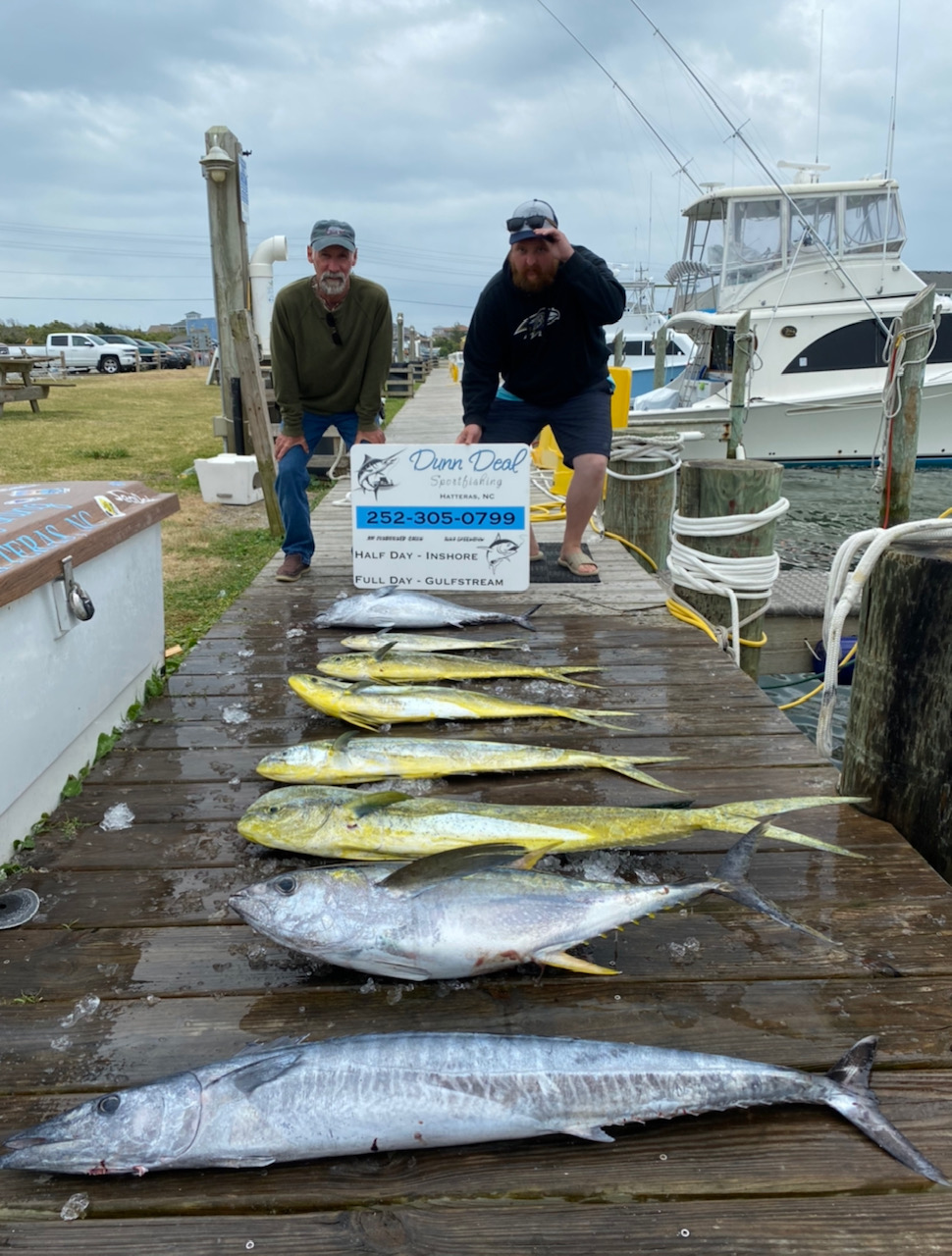 Dunn Deal/Harper's Folly Charter Fishing Hatteras