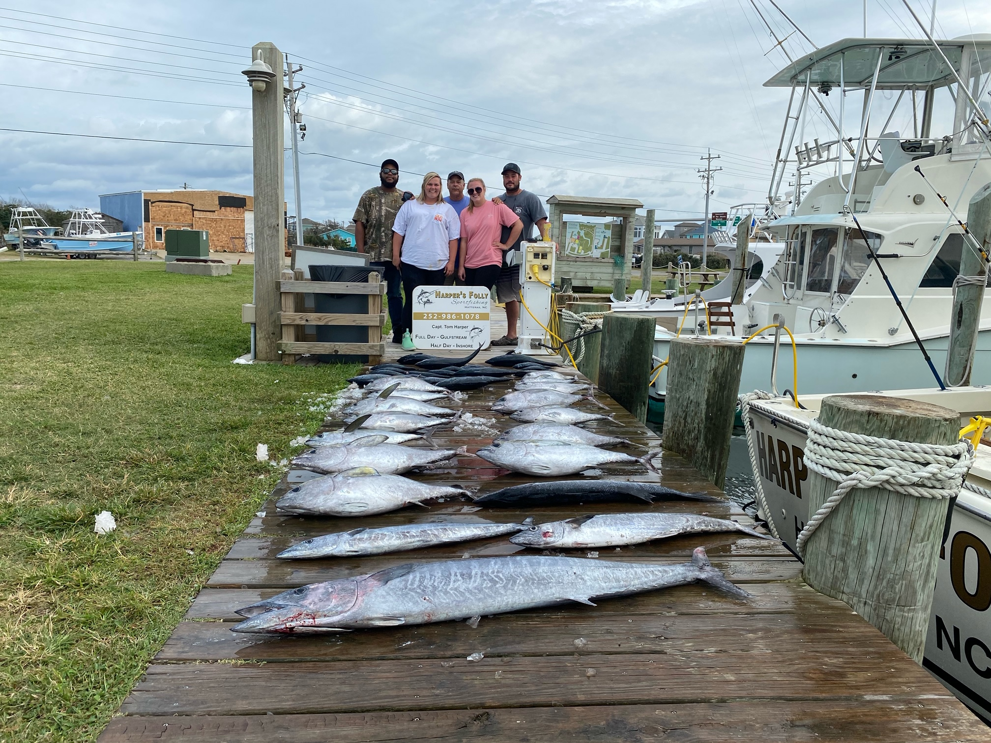 Harper's Folly Offshore Fishing Charters Teach's Lair Hatteras