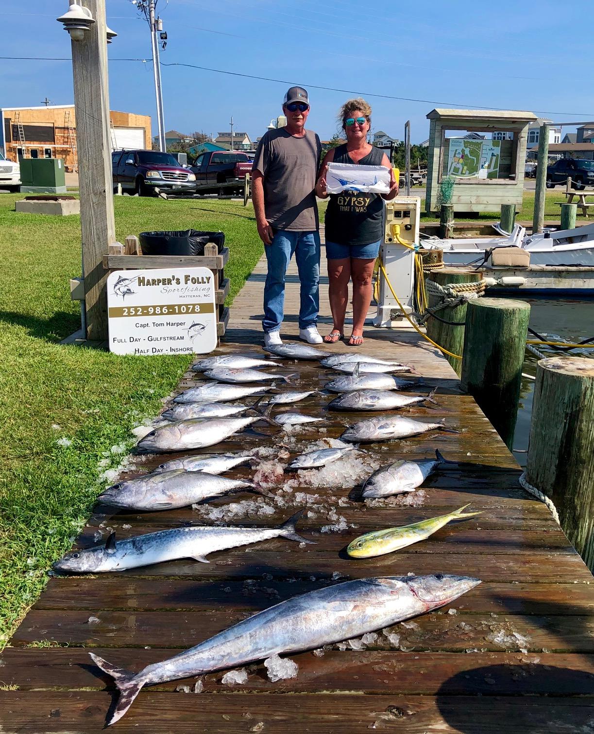 Hatteras Sportfishing Harper's Folly Teach's Lair Offshore Citation