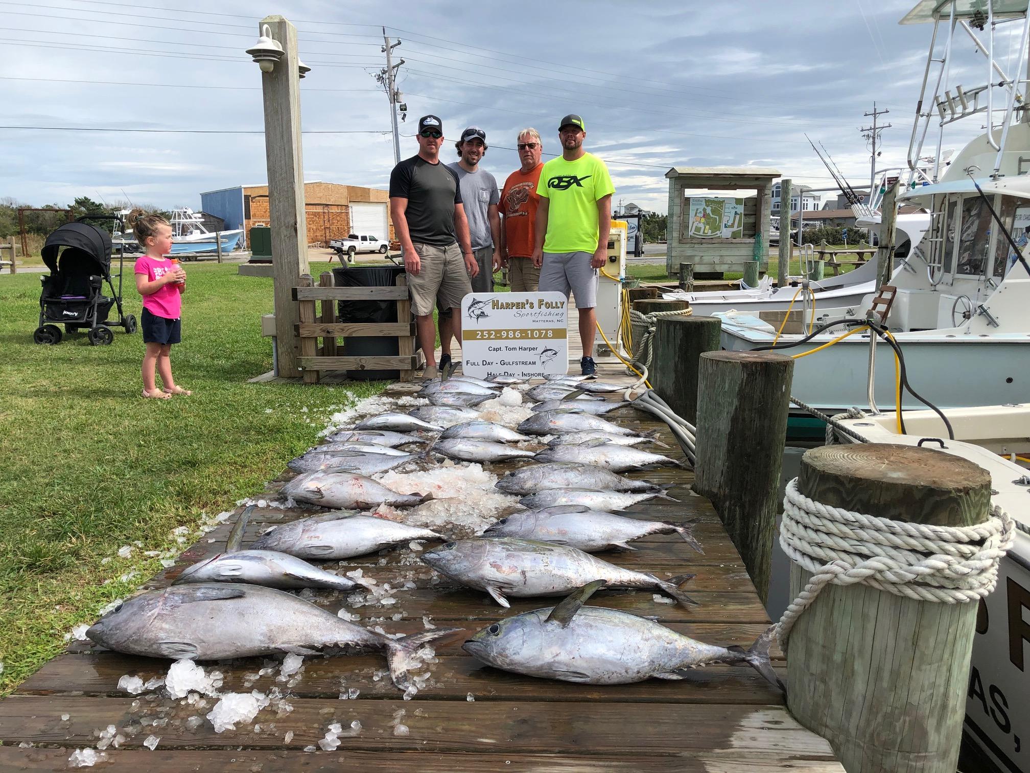 Hatteras Offshore Fishing Charter Harper's Folly Teach's Lair