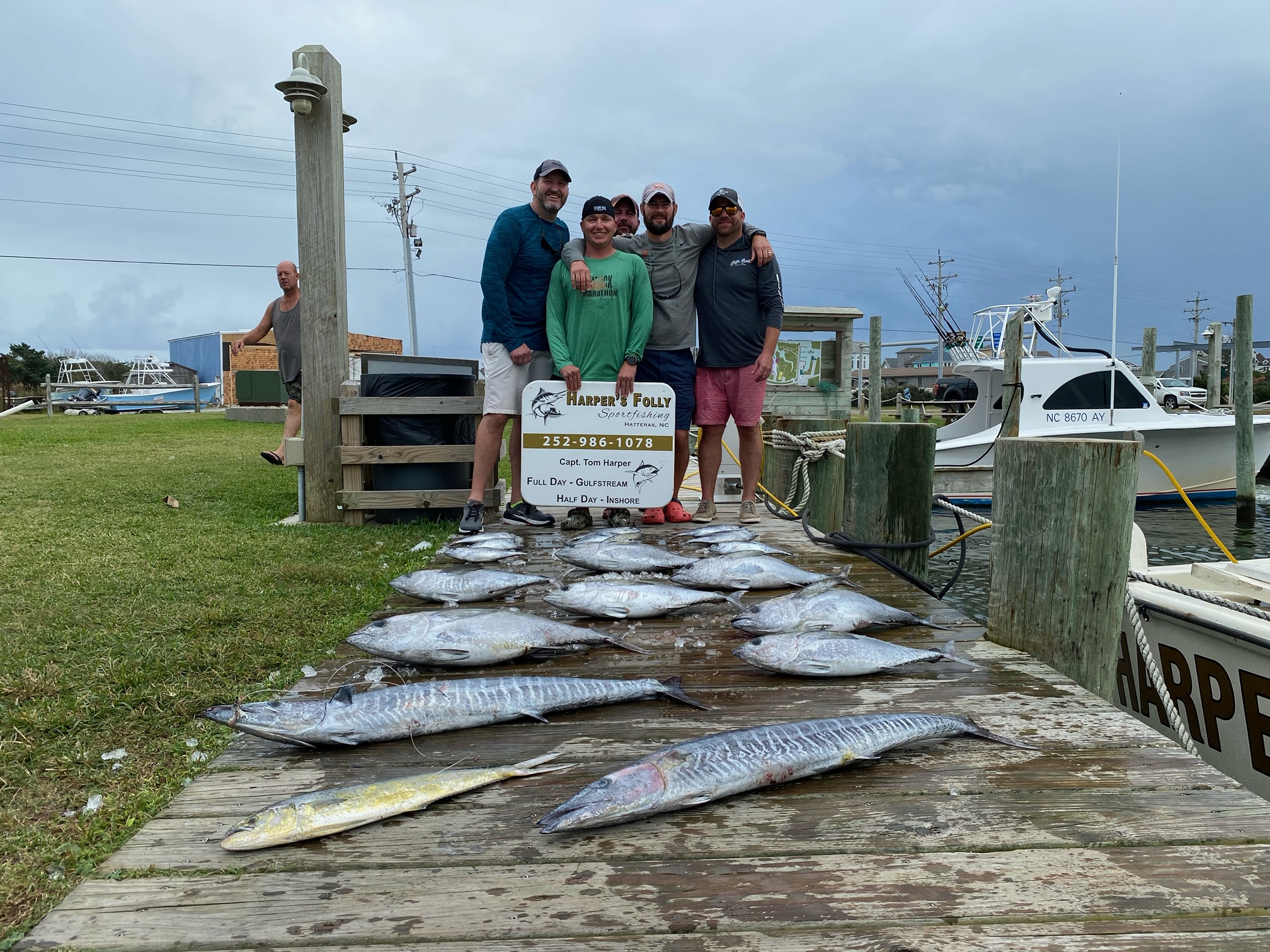 Hatteras Offshore Fishing Charters Teach's Lair Harper's Folly