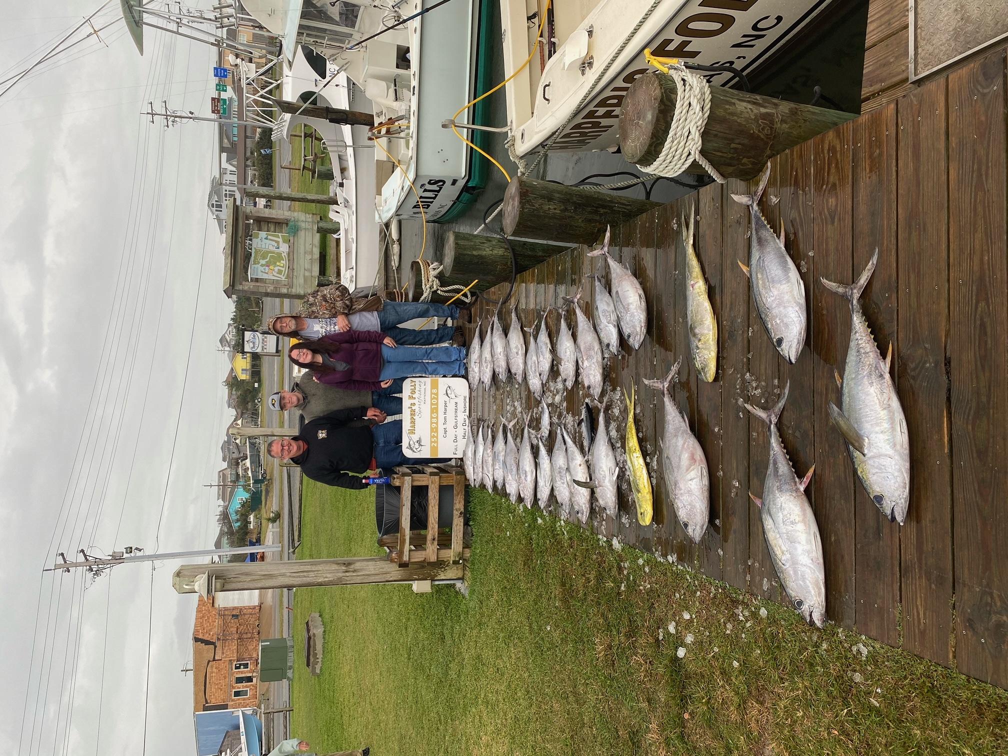 Harper's Folly Offshore Fishing Teach's Lair Tuna November