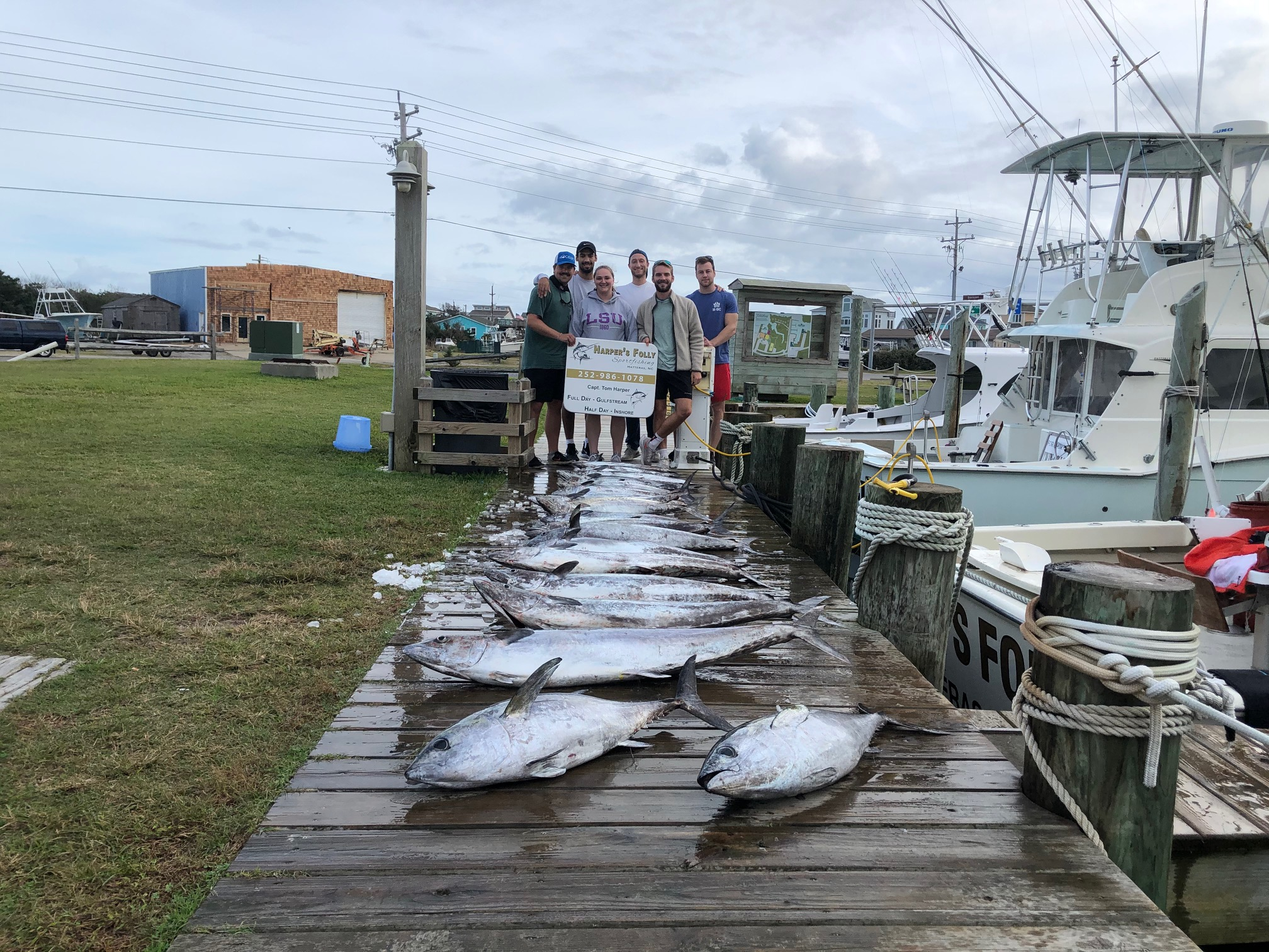 Harper's Folly Fishing Teach's Lair Offshore Hatteras