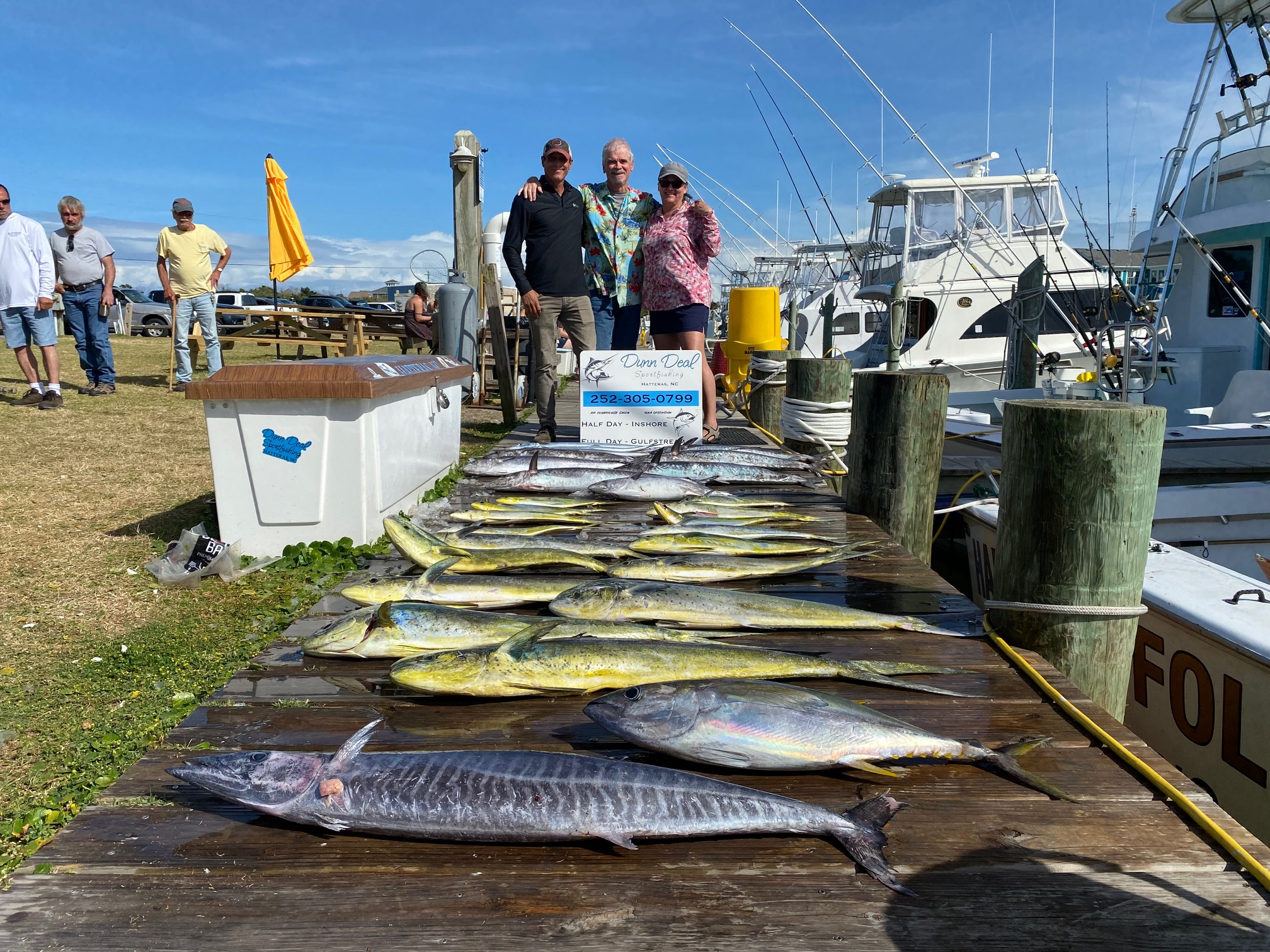 Harper's Folly Dunn Deal Teach's Lair Hatteras Offshore Fishing