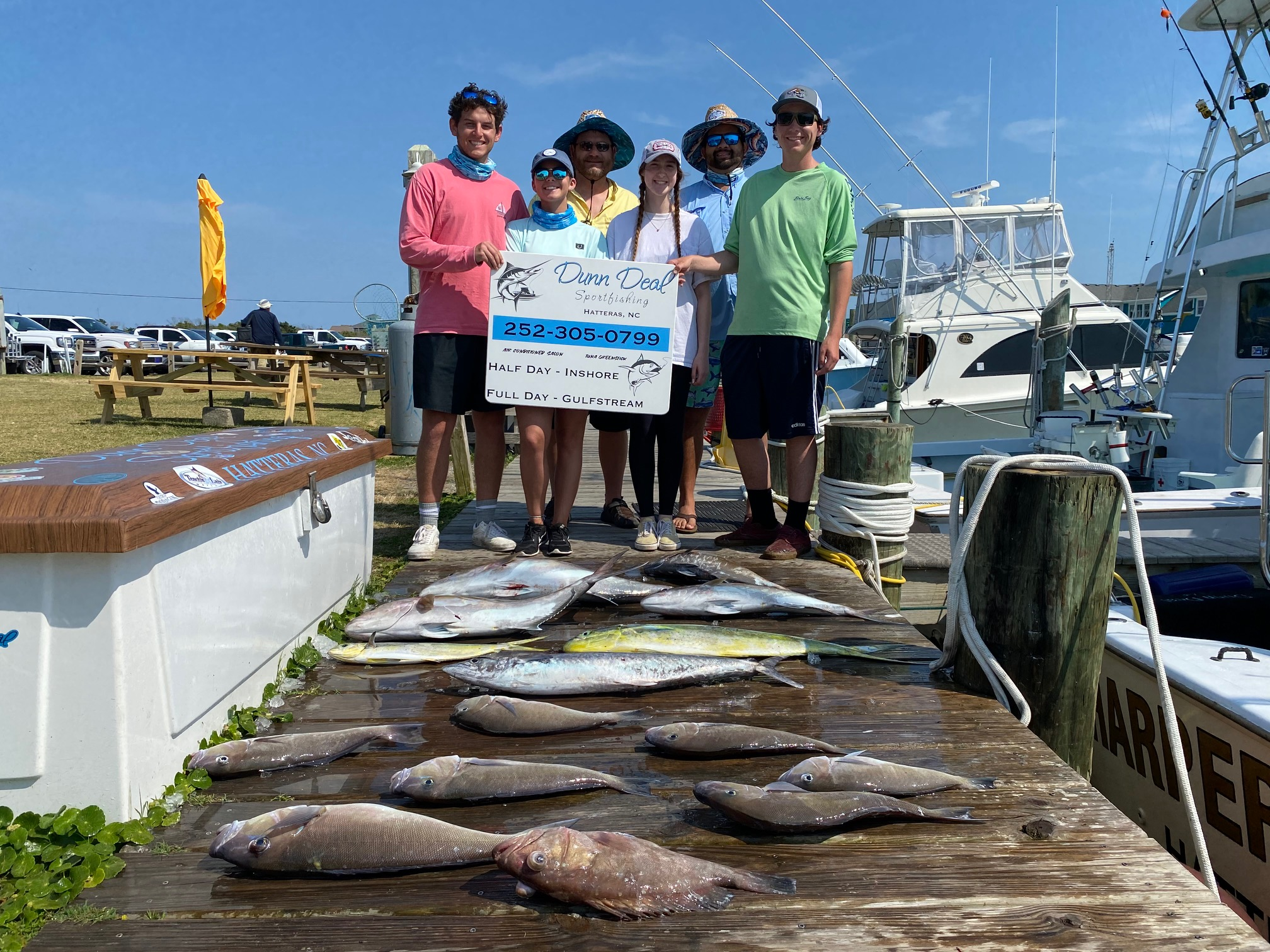 Harper's Folly Hatteras Offshore Fishing Charters Teach's Lair