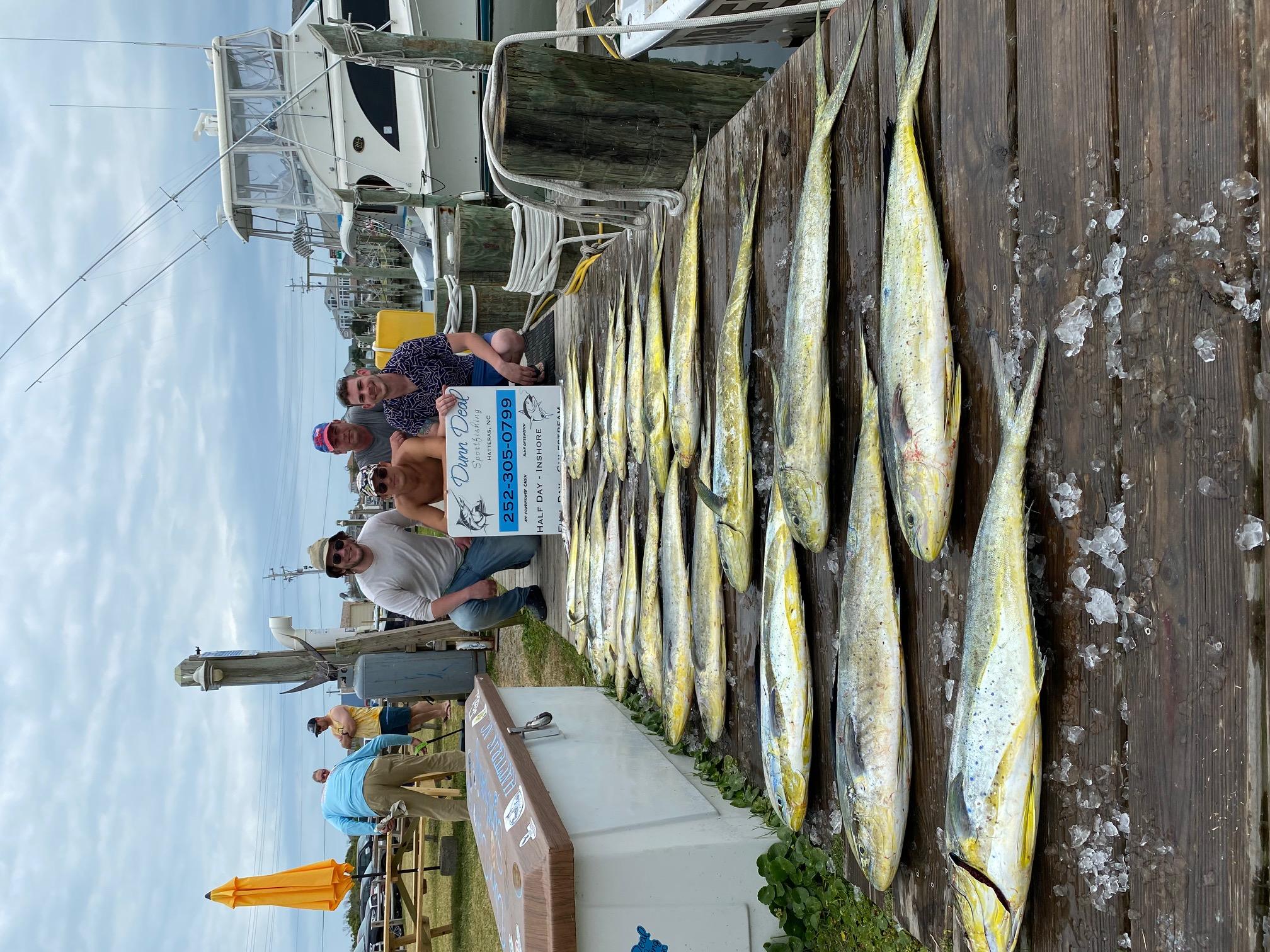 Dunn Deal Dolphin Mahi Offshore Fishing Hatteras