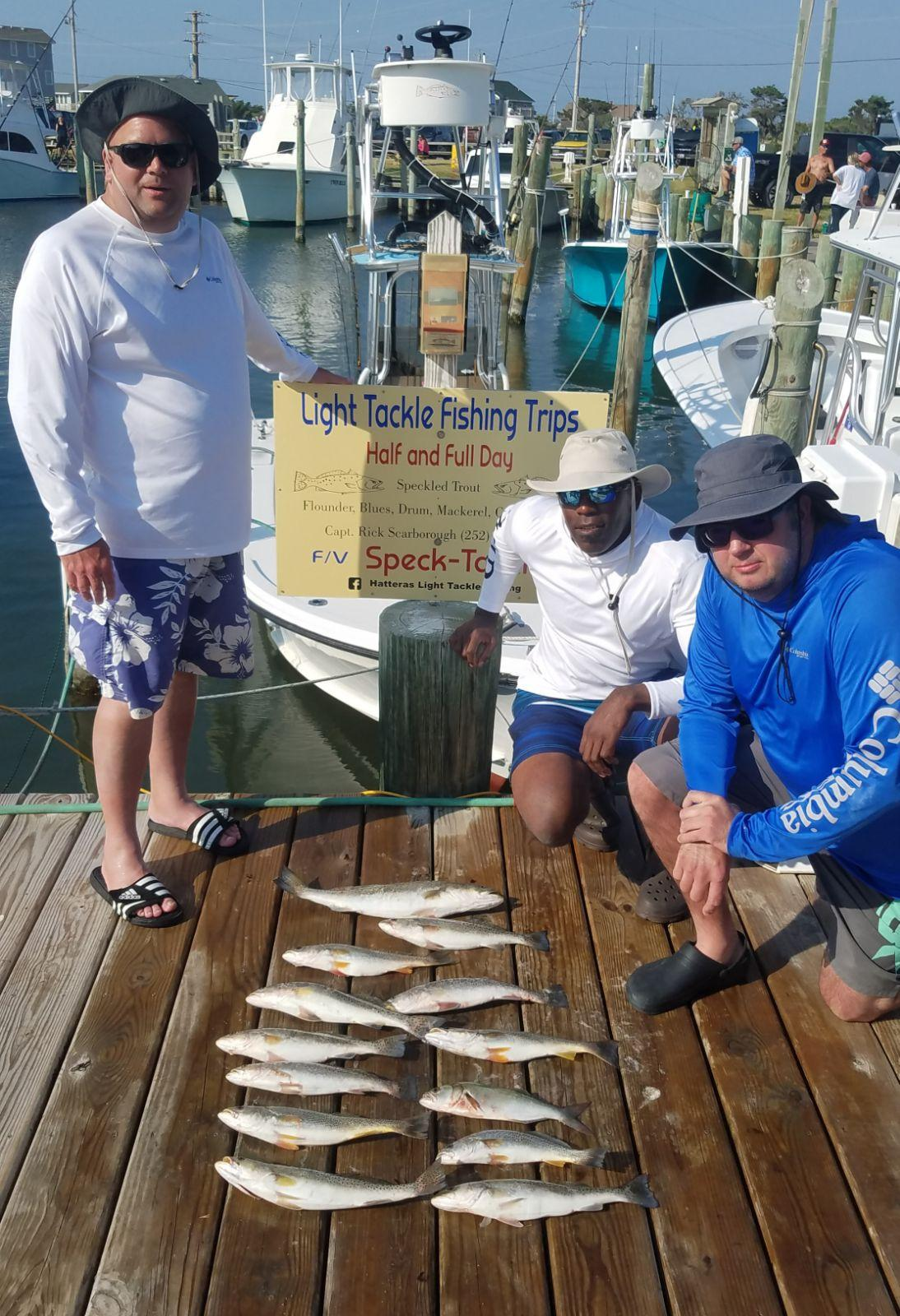 Speck-Tackler Teach's Lair Fishing Charter