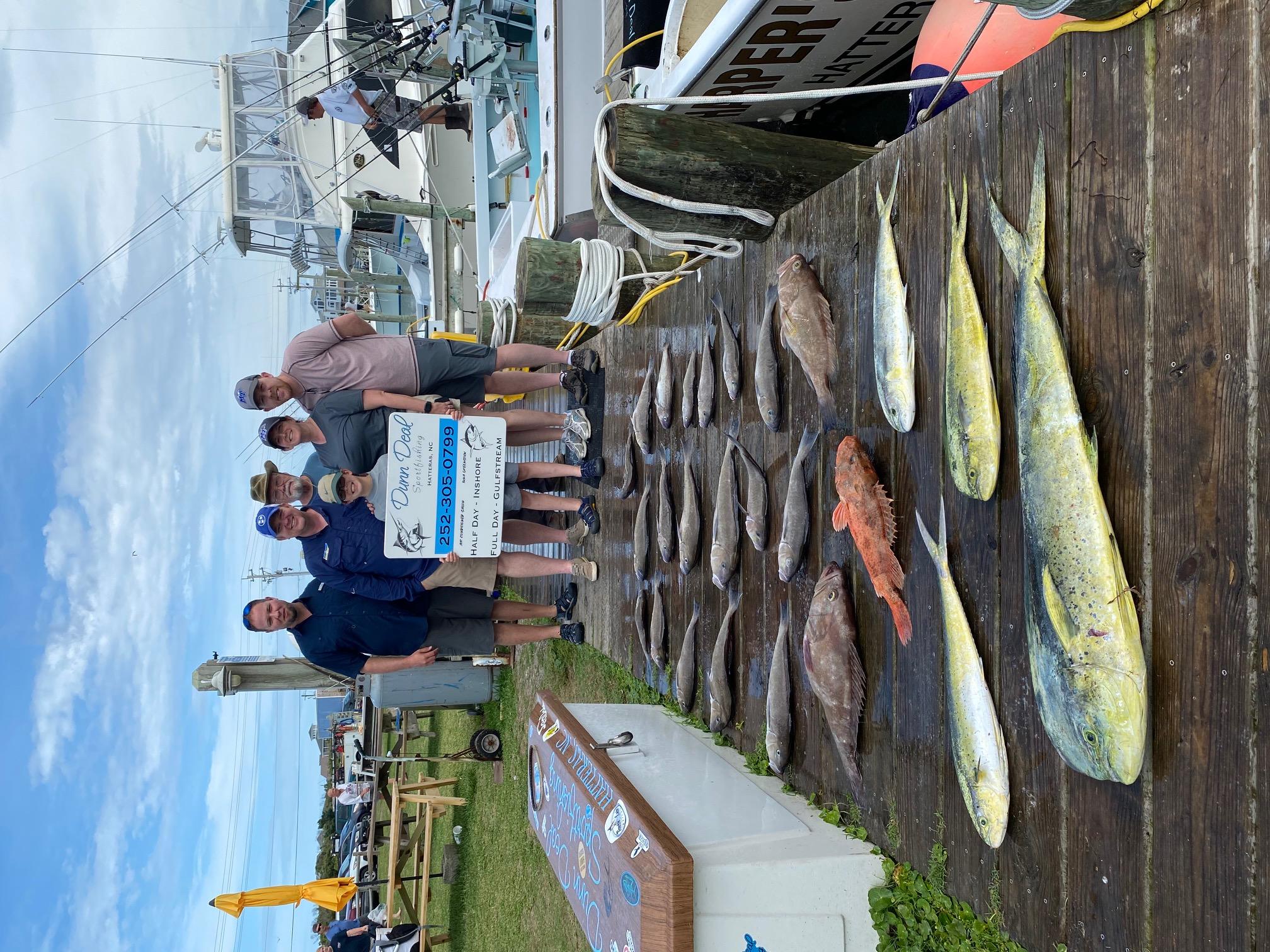 Dunn Deal Offshore Fishing Charters Hatteras, NC Teach's Lair Marina