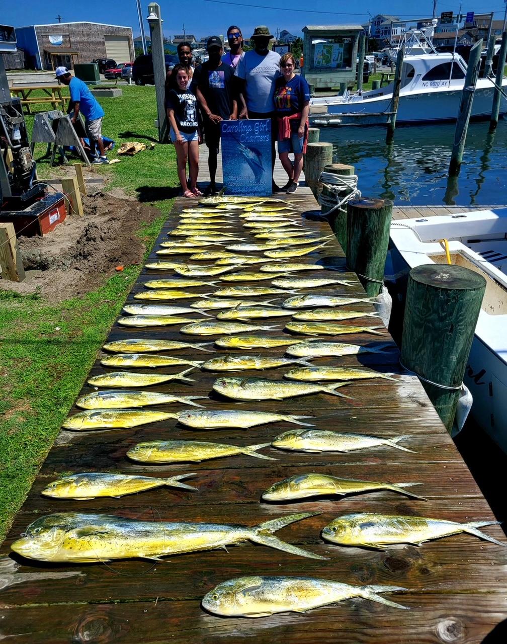 Carolina Girl Hatteras Offshore Fishing Charters Teach's Lair Marina
