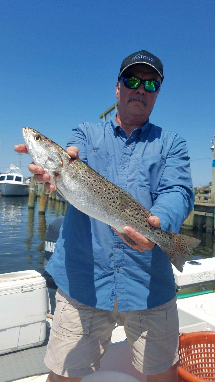 Speck-Tackler Fishing Charter Teach's Lair