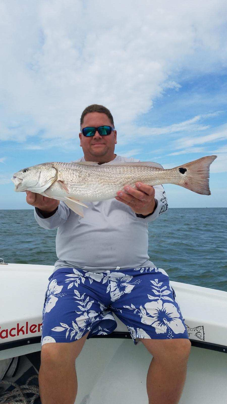 Speck-Tackler Fishing Teach's Lair Inshore Charters