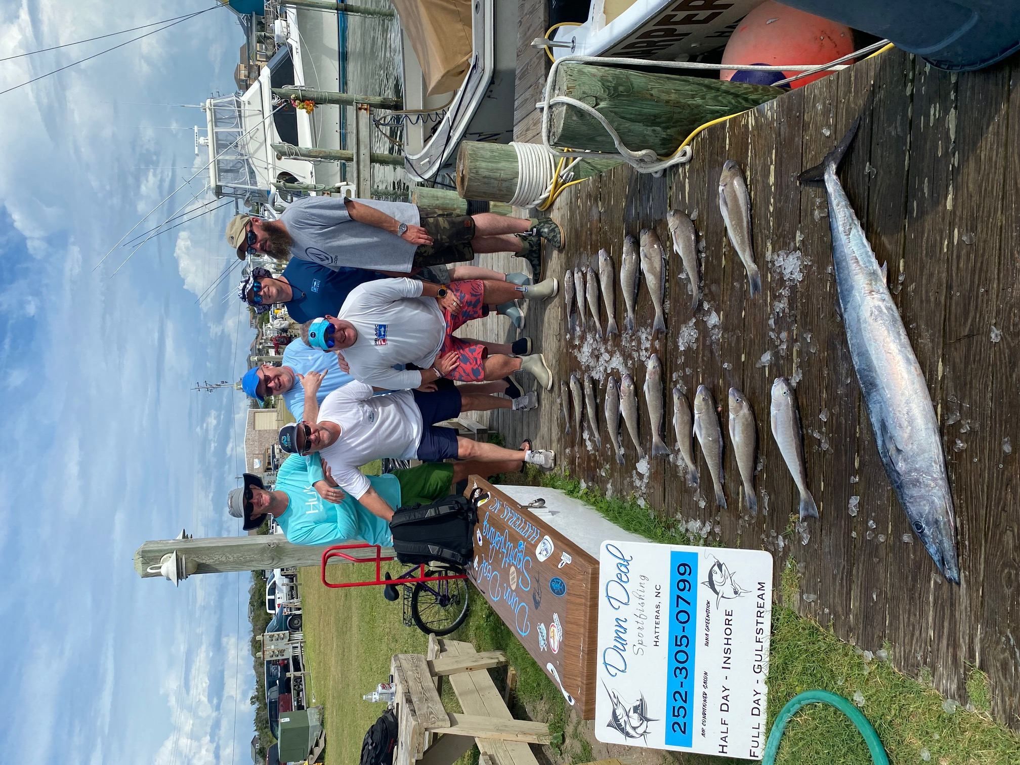 Dunn Deal Offshore Fishing Charters Wahoo Hatteras