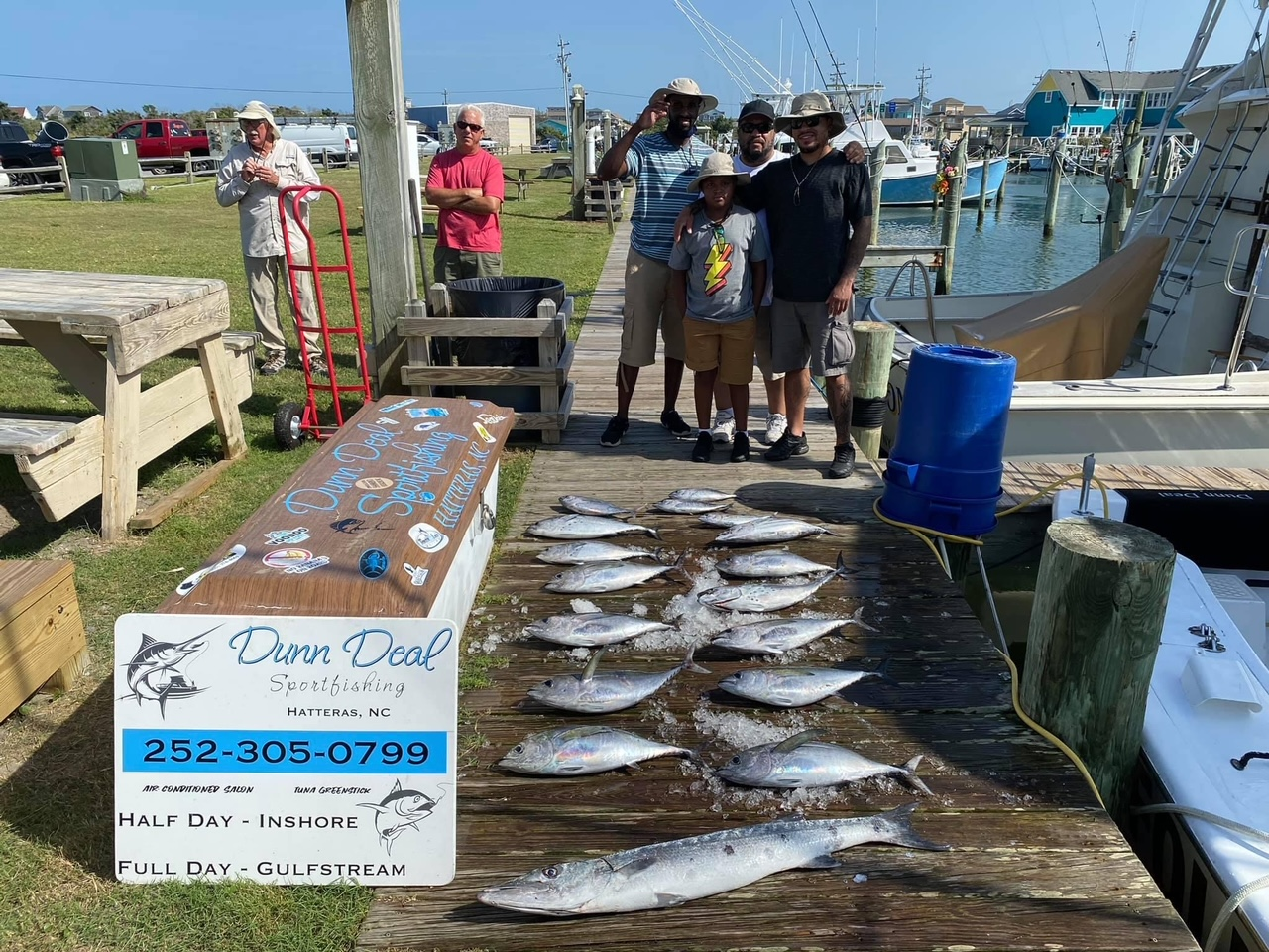 Teach's Lair Marina Offshore Fishing Dunn Deal OBX Hatteras