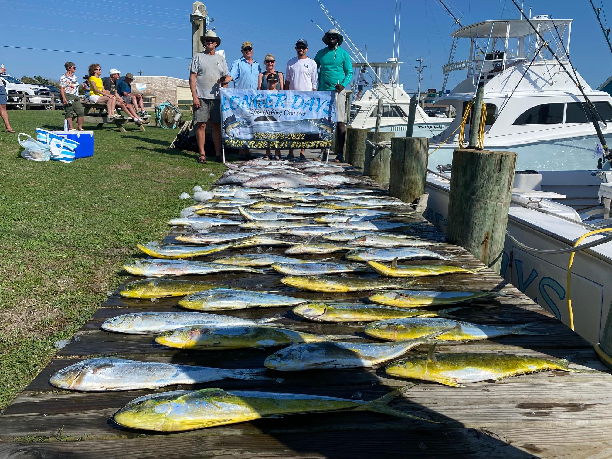 Longer Days Fishing Mahi Dolphin Teach's Lair
