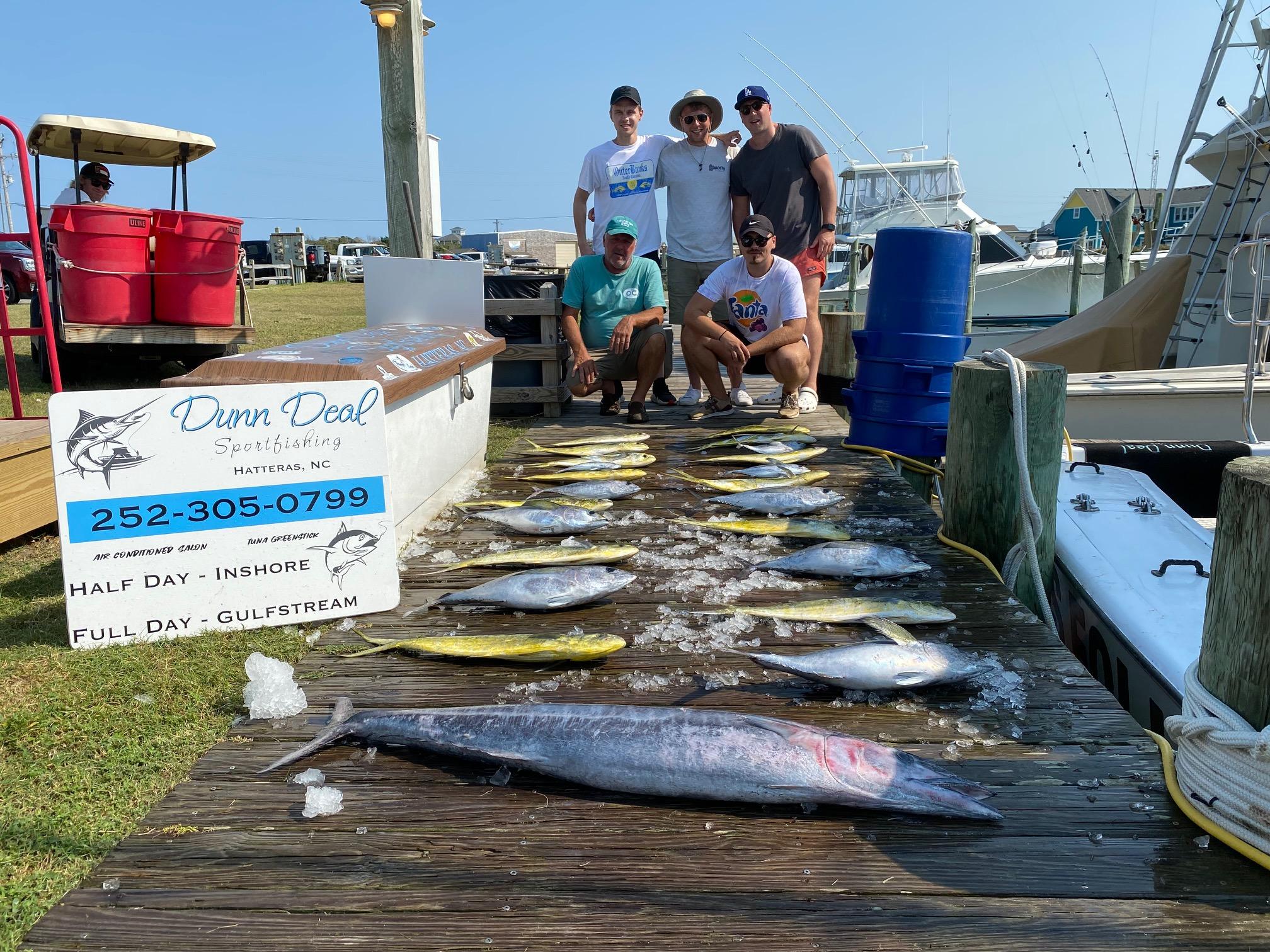 Dunn Deal Offshore Fishing Charters Hatteras Wahoo Tuna