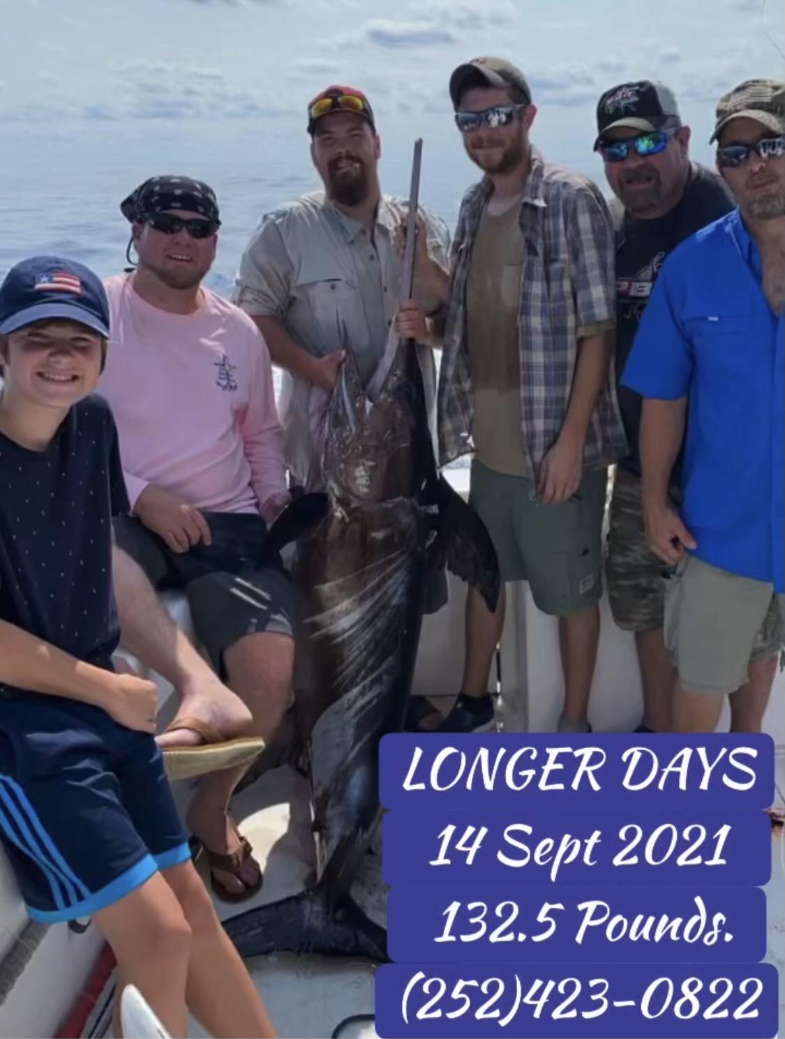 Longer Days Offshore Fishing Teach's Lair Swordfish
