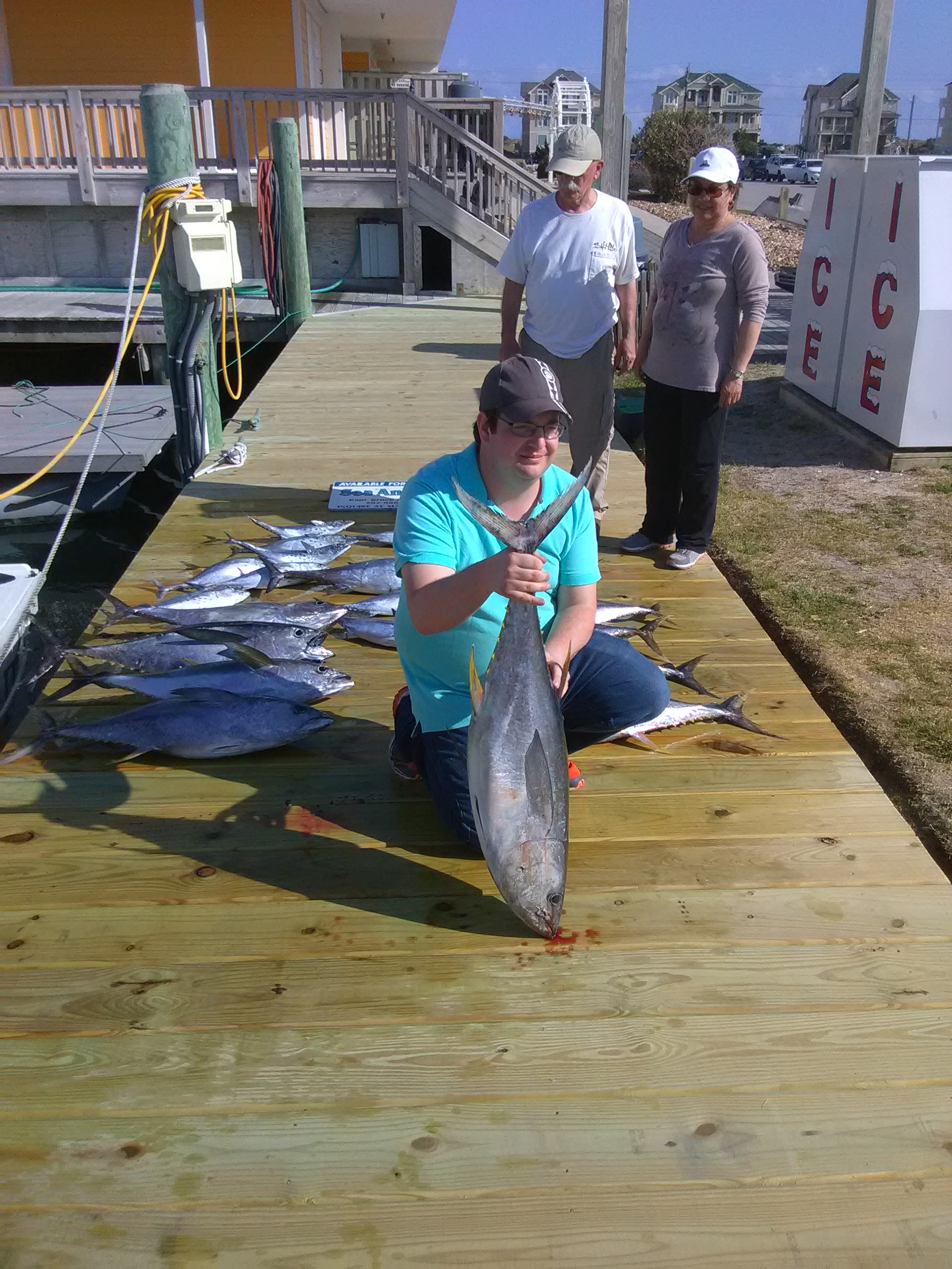 Fishing with Capt. Bruce Armstrong on the Sea Angel II