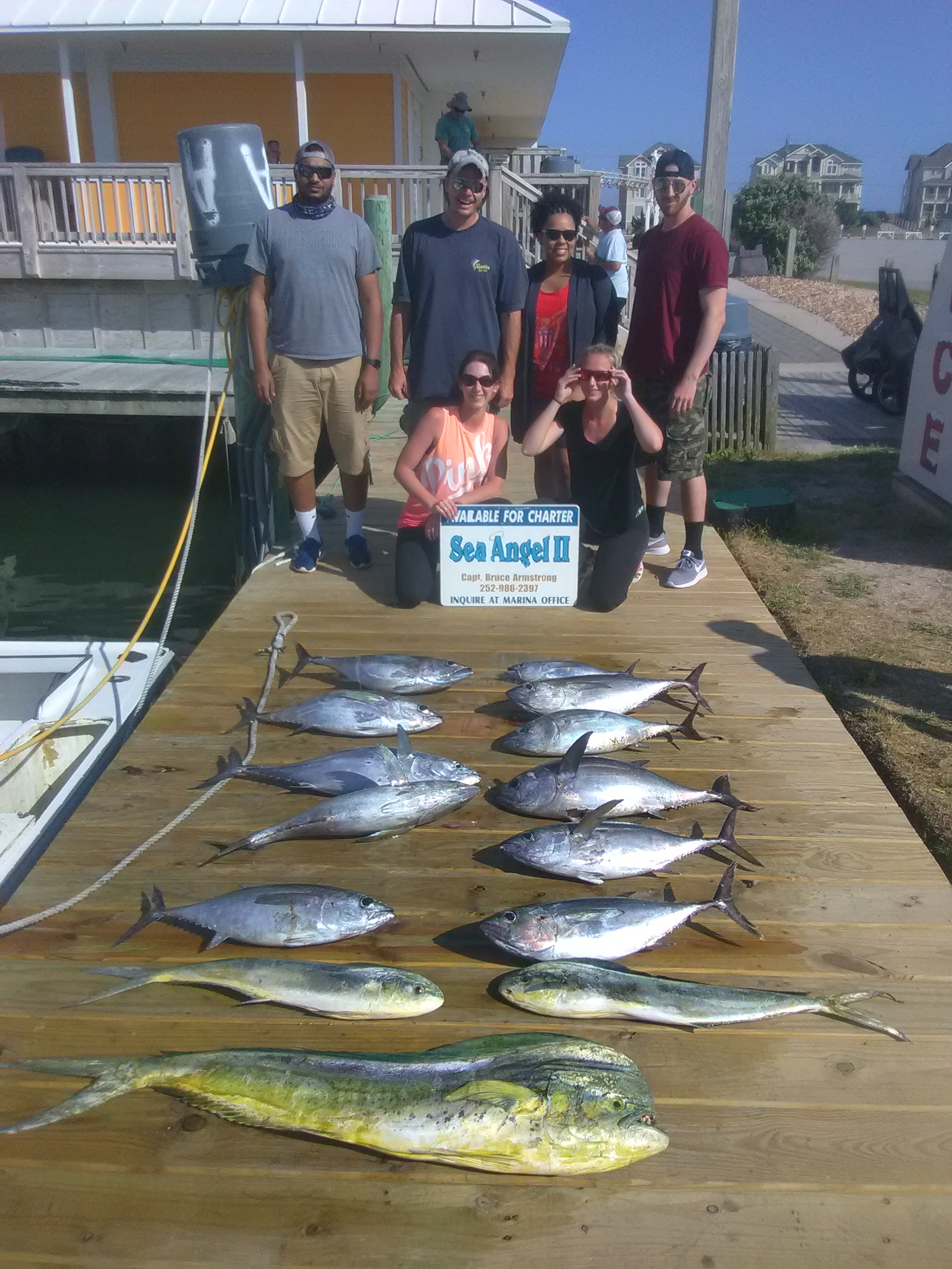 Fishing with Captain Bruce Armstrong on the Sea Angel II