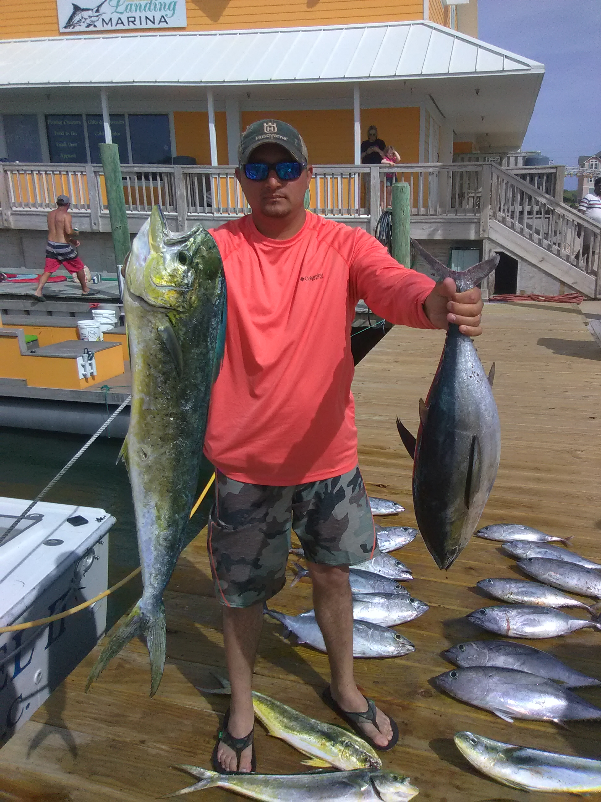 Fishing with Captain Bruce out of Hatteras Landing Marina