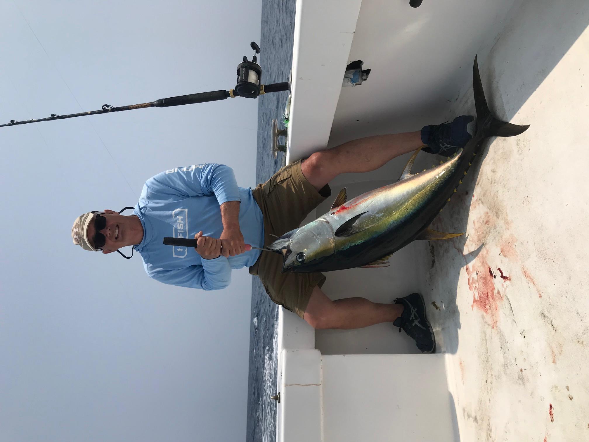 Yellowfin Tuna Longer Days Fishing Charters Teach's Lair