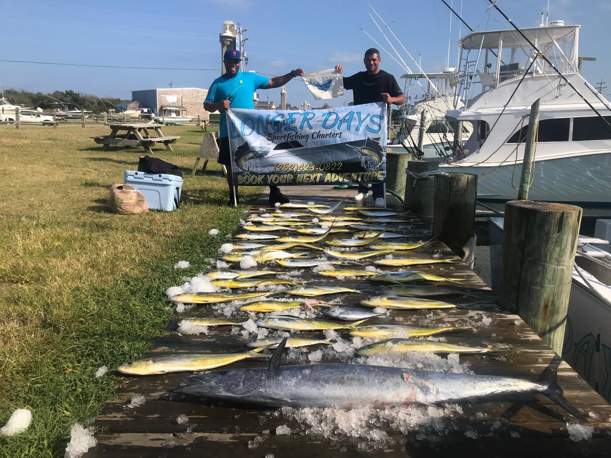 Longer Days Offshore Fishing Teach's Lair Marina OBX Hatteras
