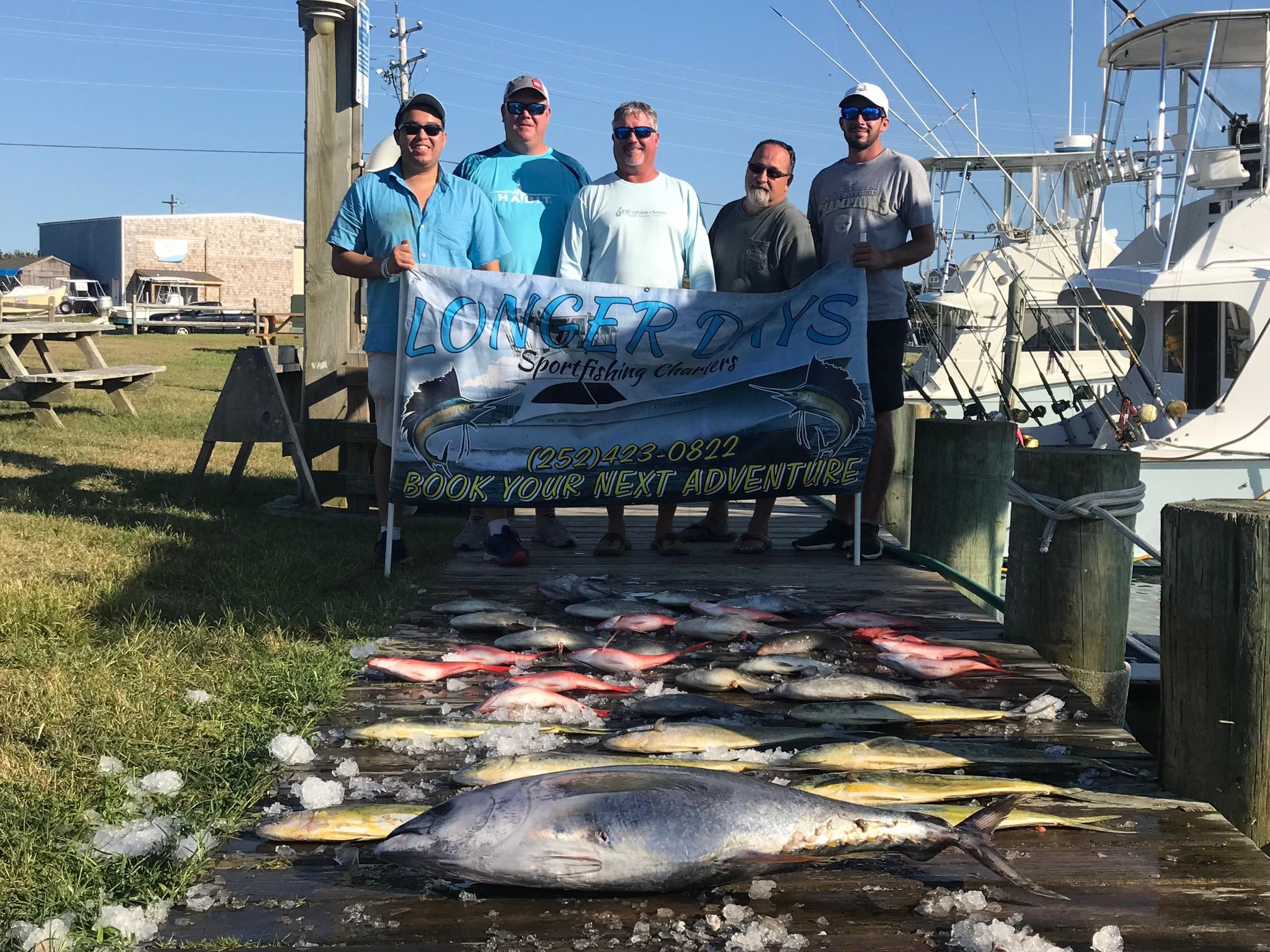 Longer Days Sportfishing Charters Hatteras, NC