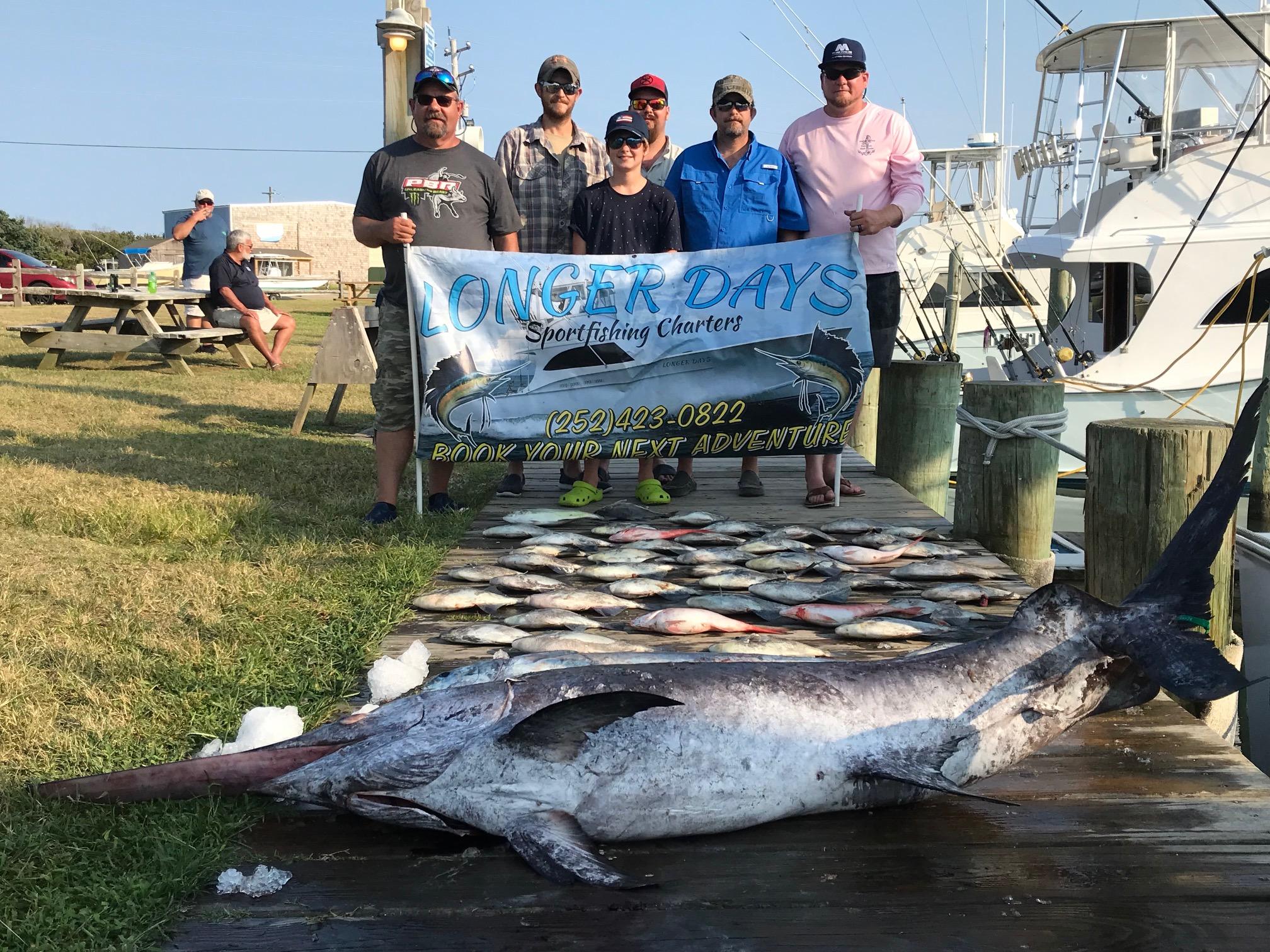 Longer Days Offshore Fishing Hatteras Teach's Lair