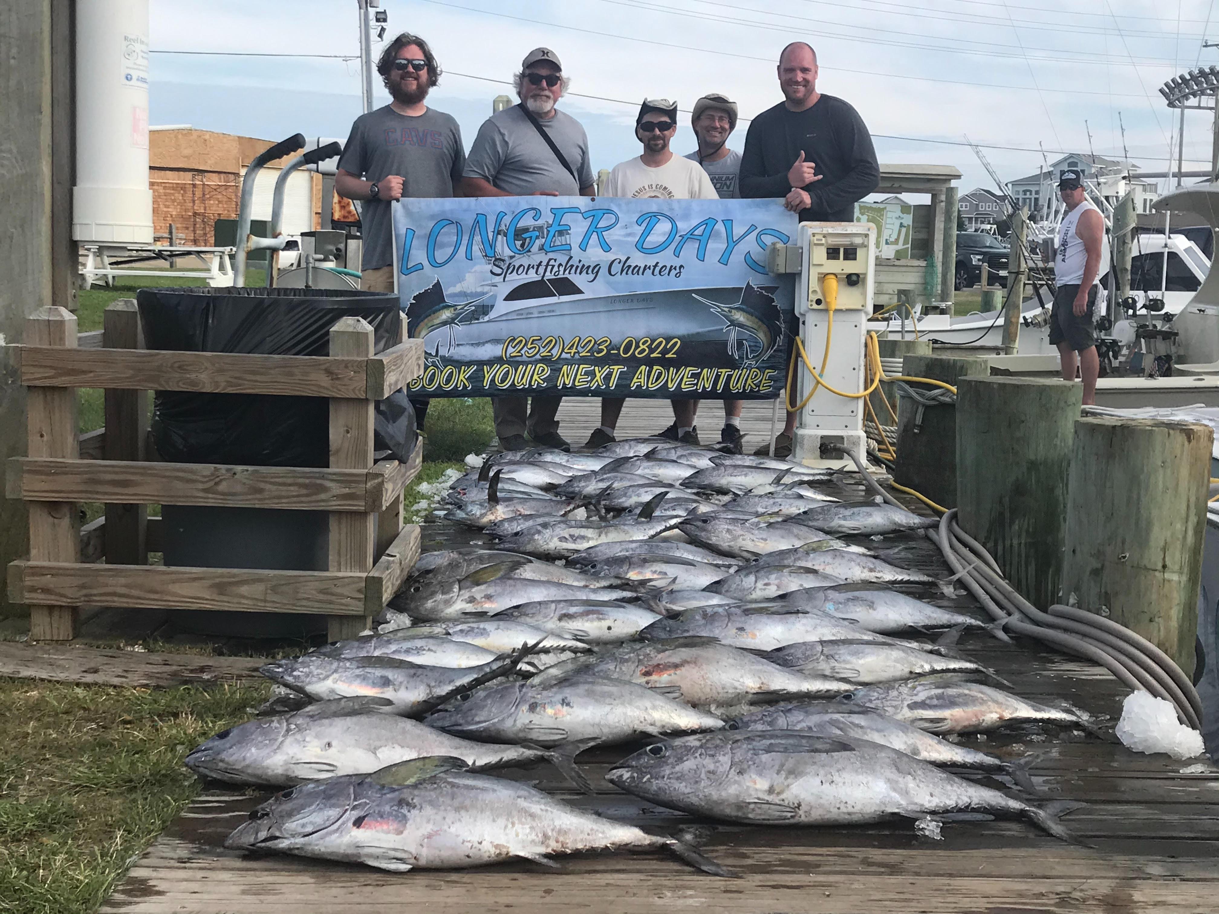 Hatteras Offshore Fishing Charter Longer Days Teach's Lair