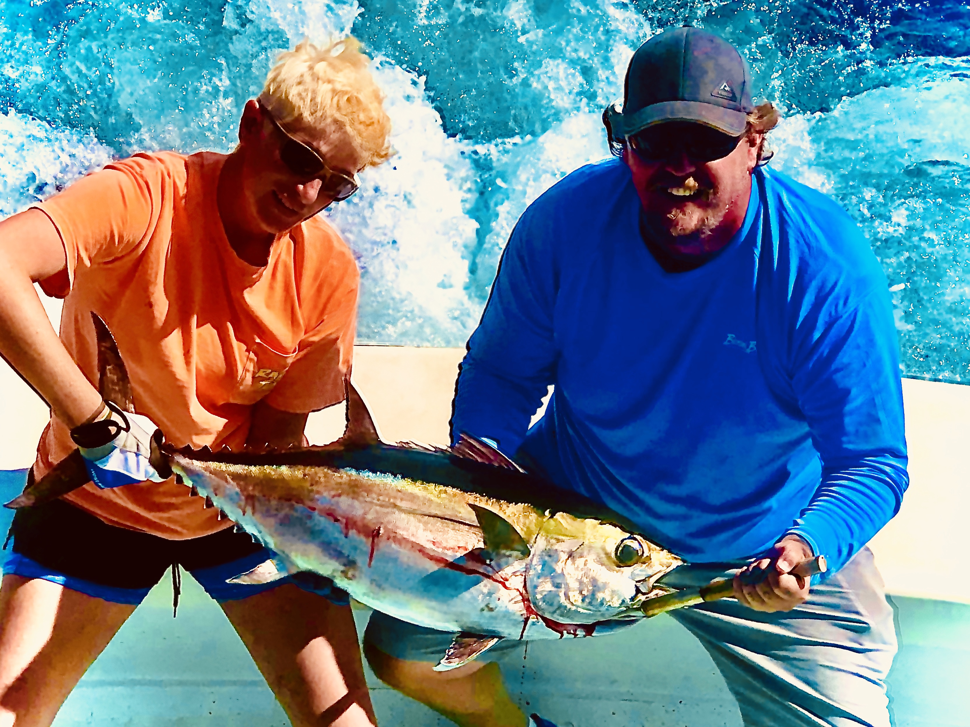Rabid Tuna Yellowfin Teach's Lair Offshore Fishing