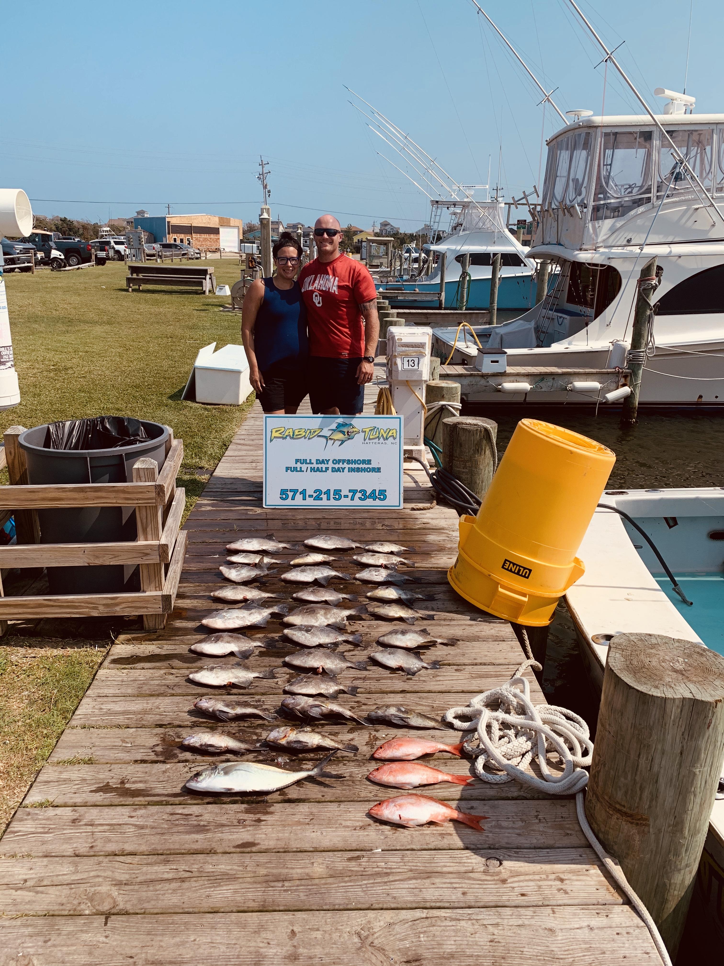 Hatteras Sportfishing Charters Teach's Lair Rabid Tuna