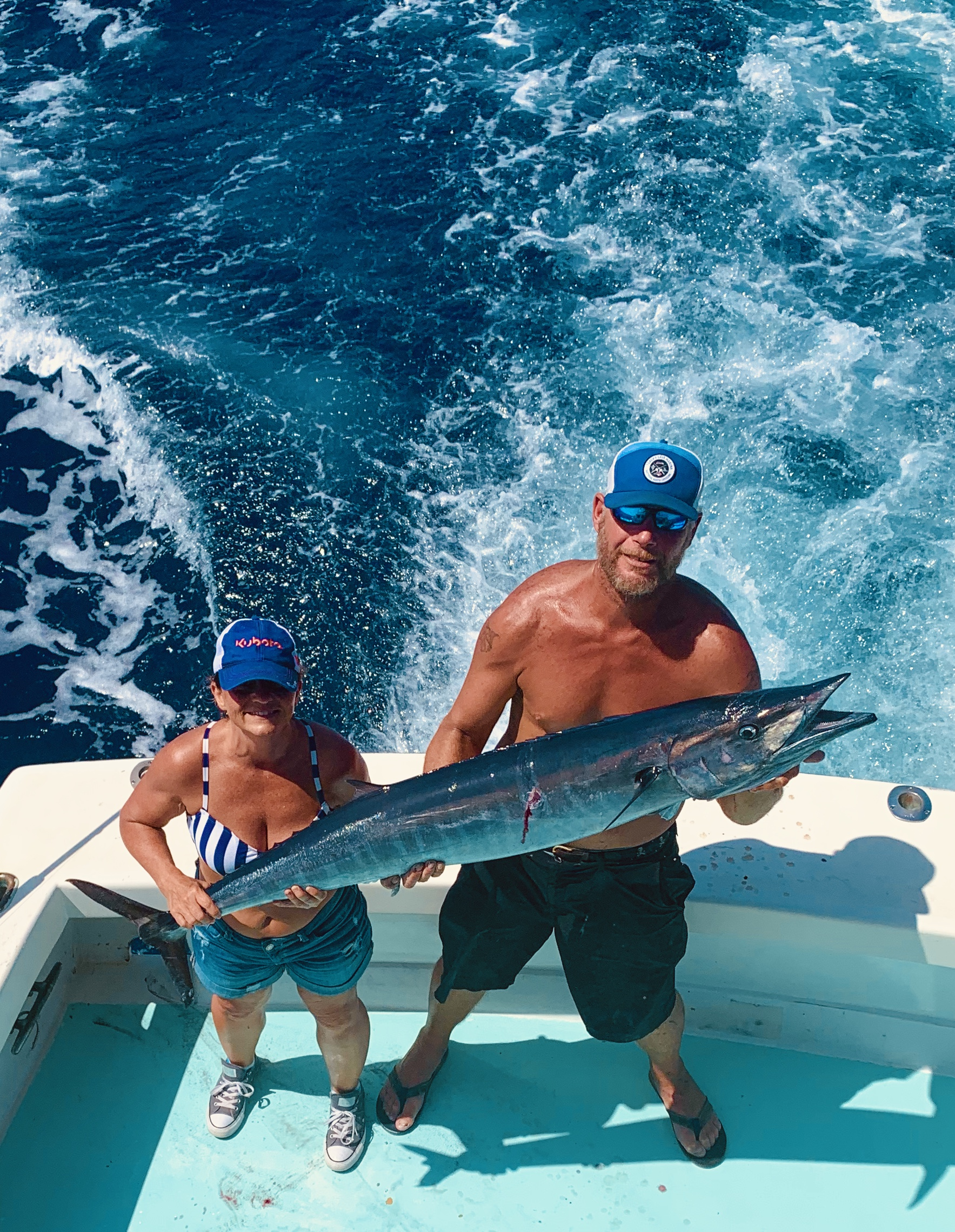 Rabid Tuna Offshore Fishing Charters Teach's Lair Wahoo